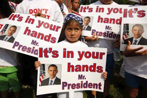 Children Of Undocumented Immigrants Rally In Washington To End Deportations